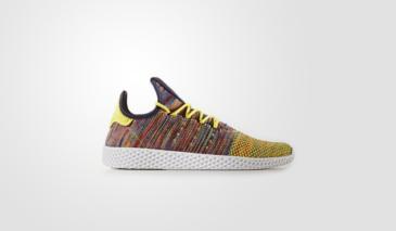 Pharrell Williams x adidas Tennis HU – Semi Frozen Yellow