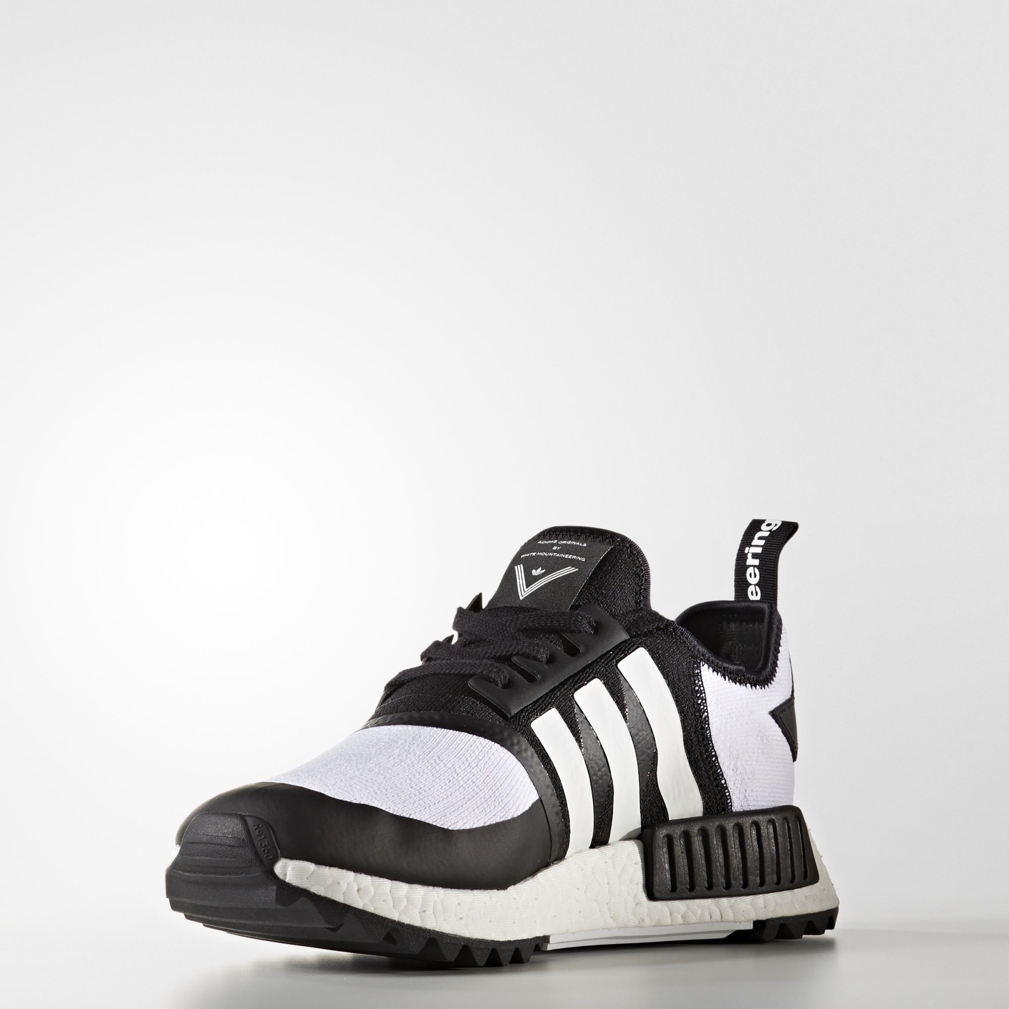 CG3646 White Mountaineering x adidas NMD R1 Trail Primeknit Black 2