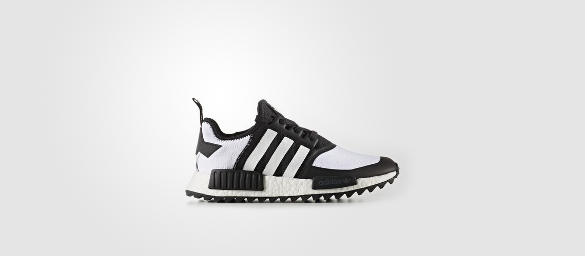 CG3646 White Mountaineering x adidas NMD R1 Trail Primeknit Black