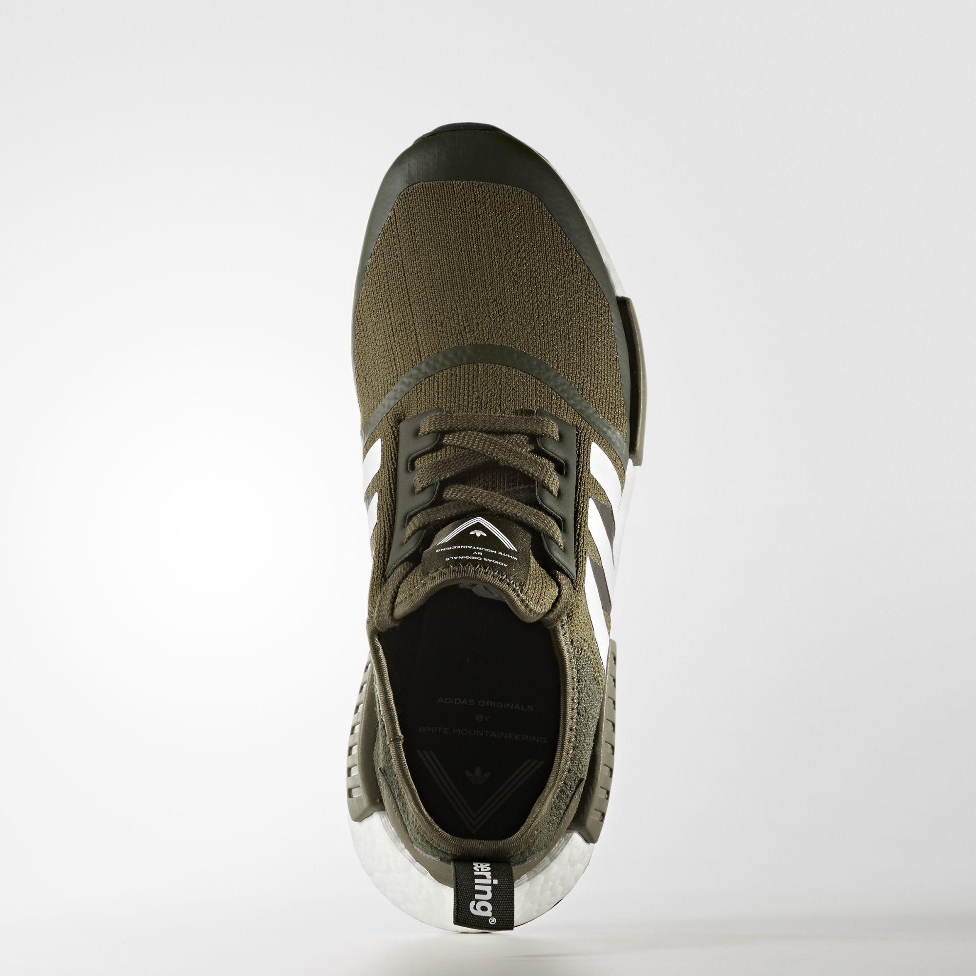 CG3647 White Mountaineering x adidas NMD R1 Trail Primeknit Olive 1