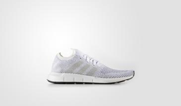 adidas Swift Run Primeknit – White