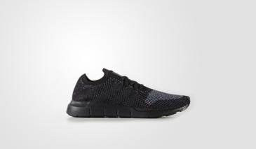 adidas Swift Run Primeknit – Black