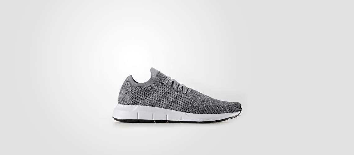 CG4128 adidas Swift Run Primeknit Grey