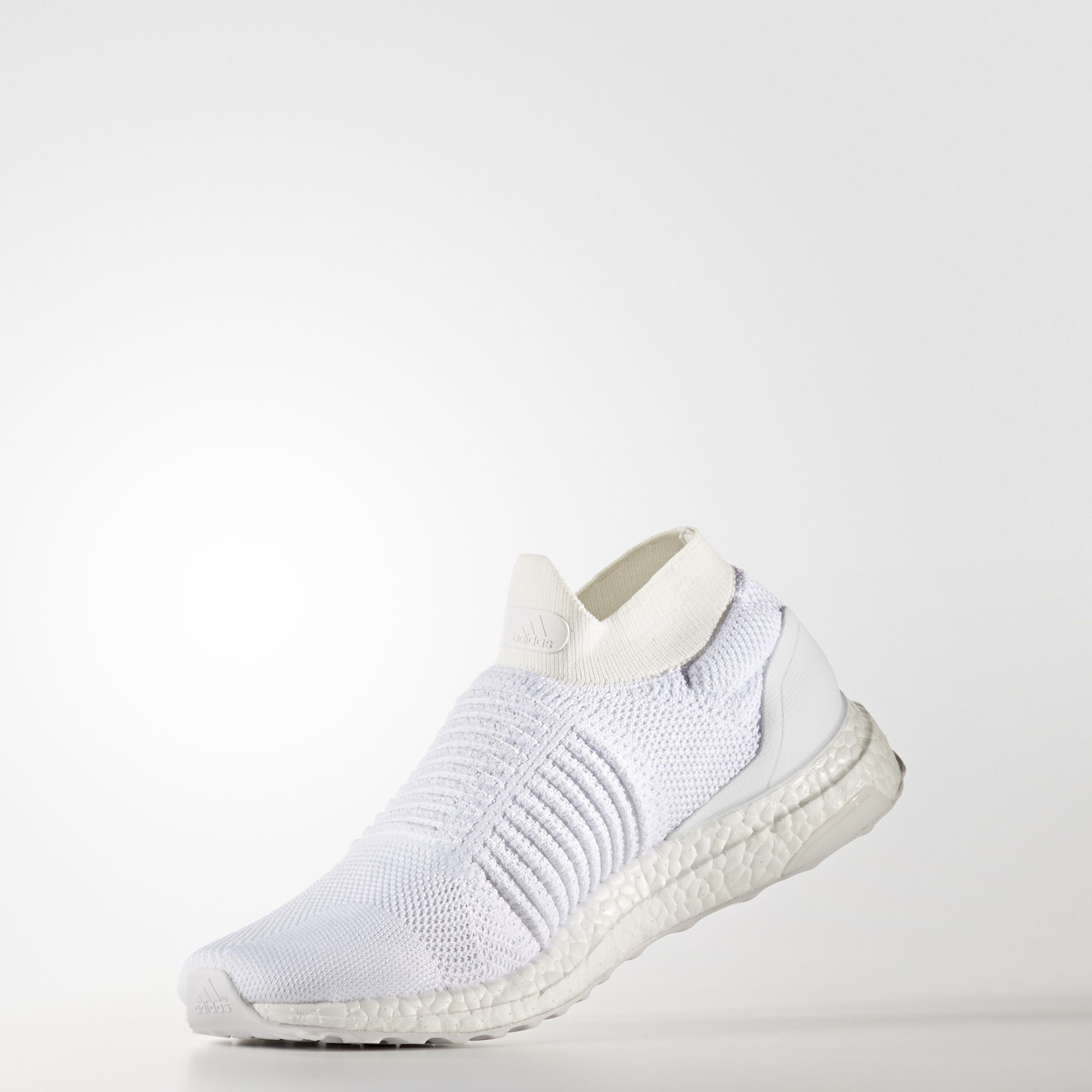 S80768 adidas Ultra Boost Laceless White 2