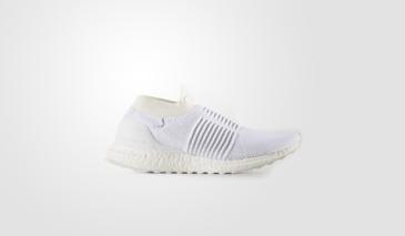 adidas Ultra Boost Laceless – White