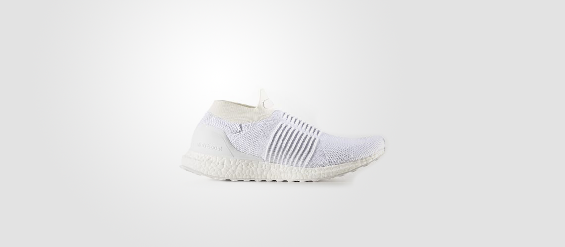 S80768 adidas Ultra Boost Laceless White