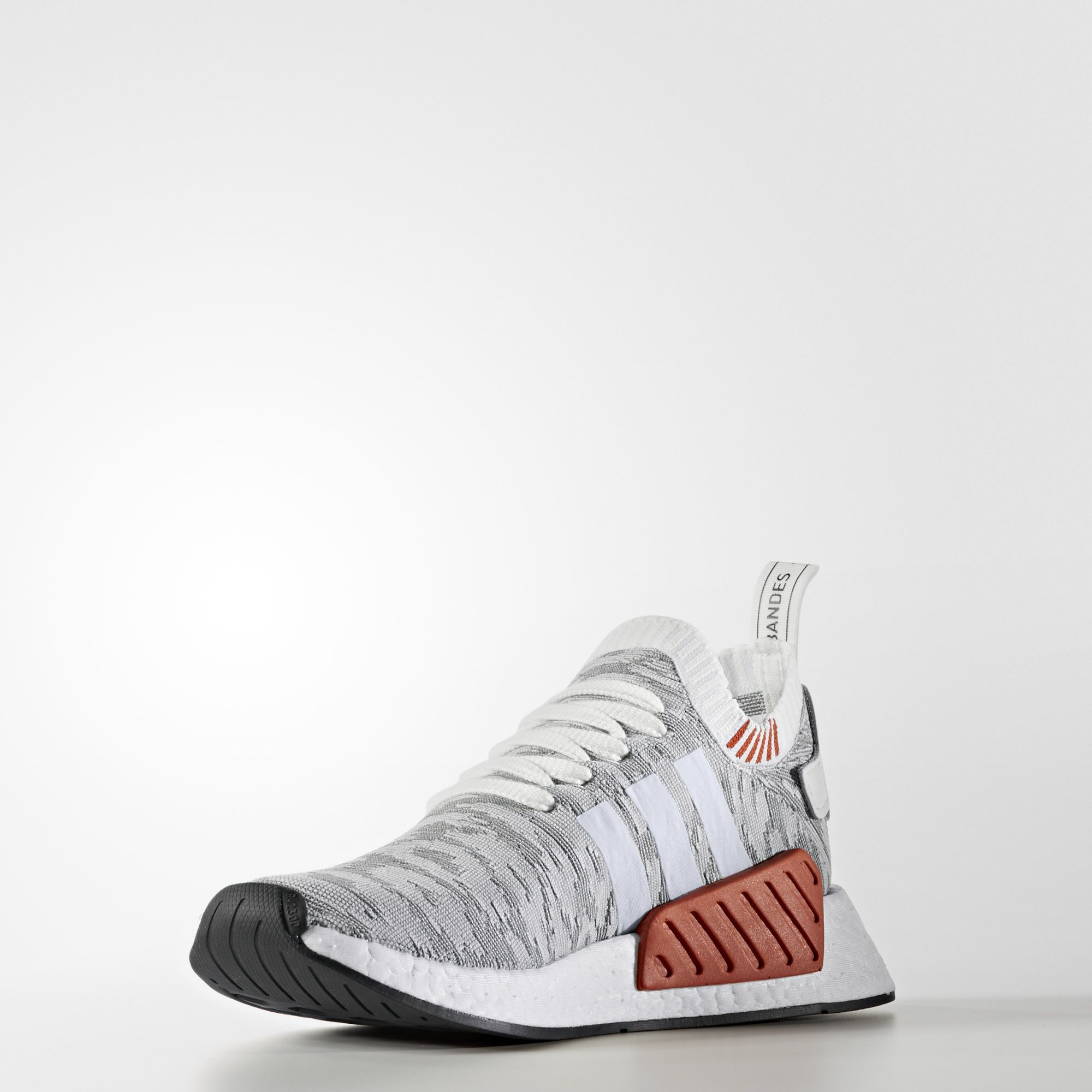 adidas NMD R2 Primeknit White Black BY9410 3
