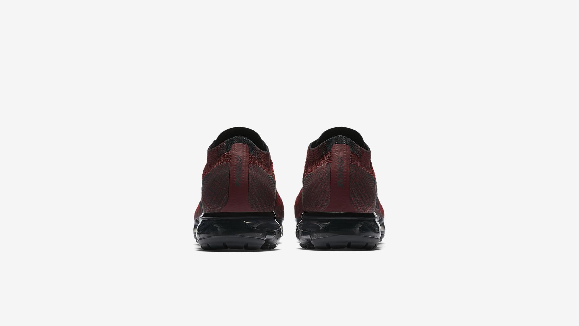 849558 601 Nike Air VaporMax Deep Red 2