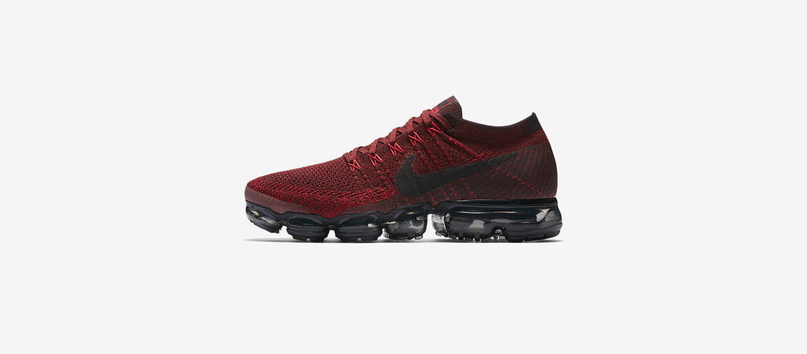 849558 601 Nike Air VaporMax Deep Red