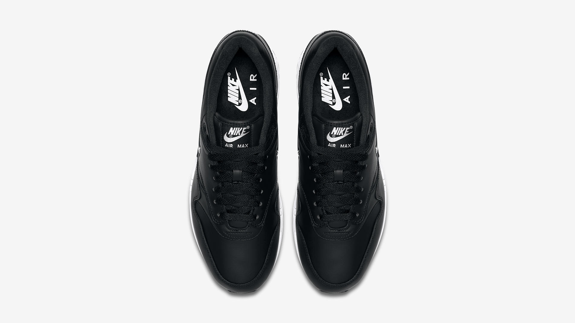 918354 001 Nike Air Max 1 Jewel Black Metal 2