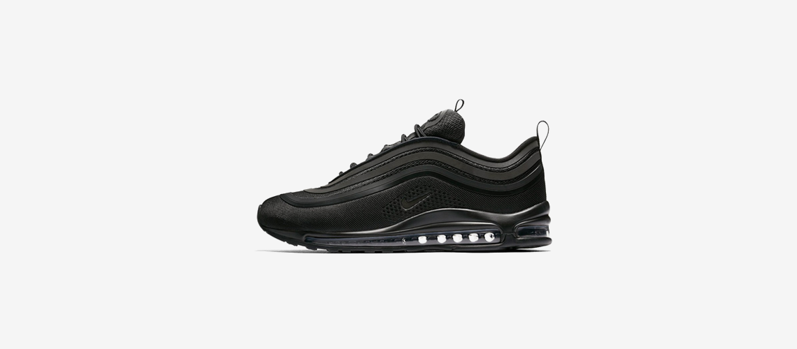 918356 002 Nike Air Max 97 Ultra 17 Triple Black