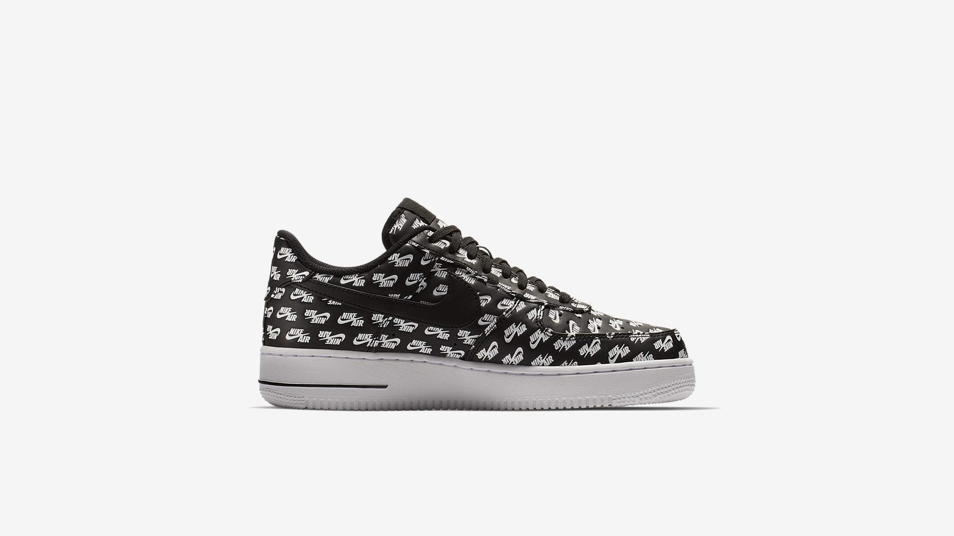 AH8462 001 Nike Air Force 1 07 Black White 3