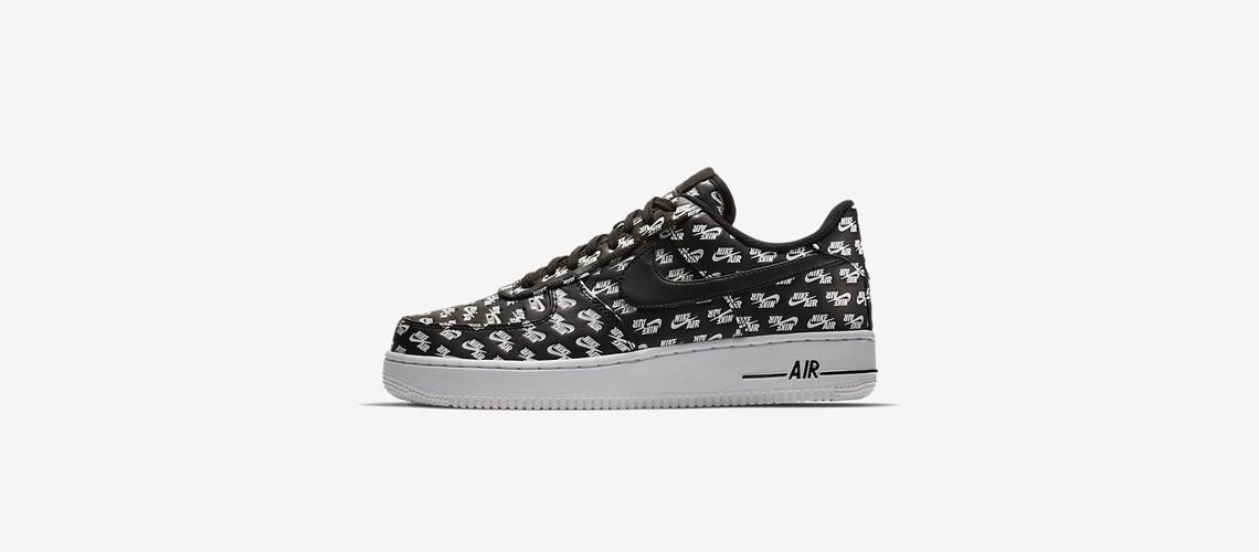 AH8462 001 Nike Air Force 1 07 Black White