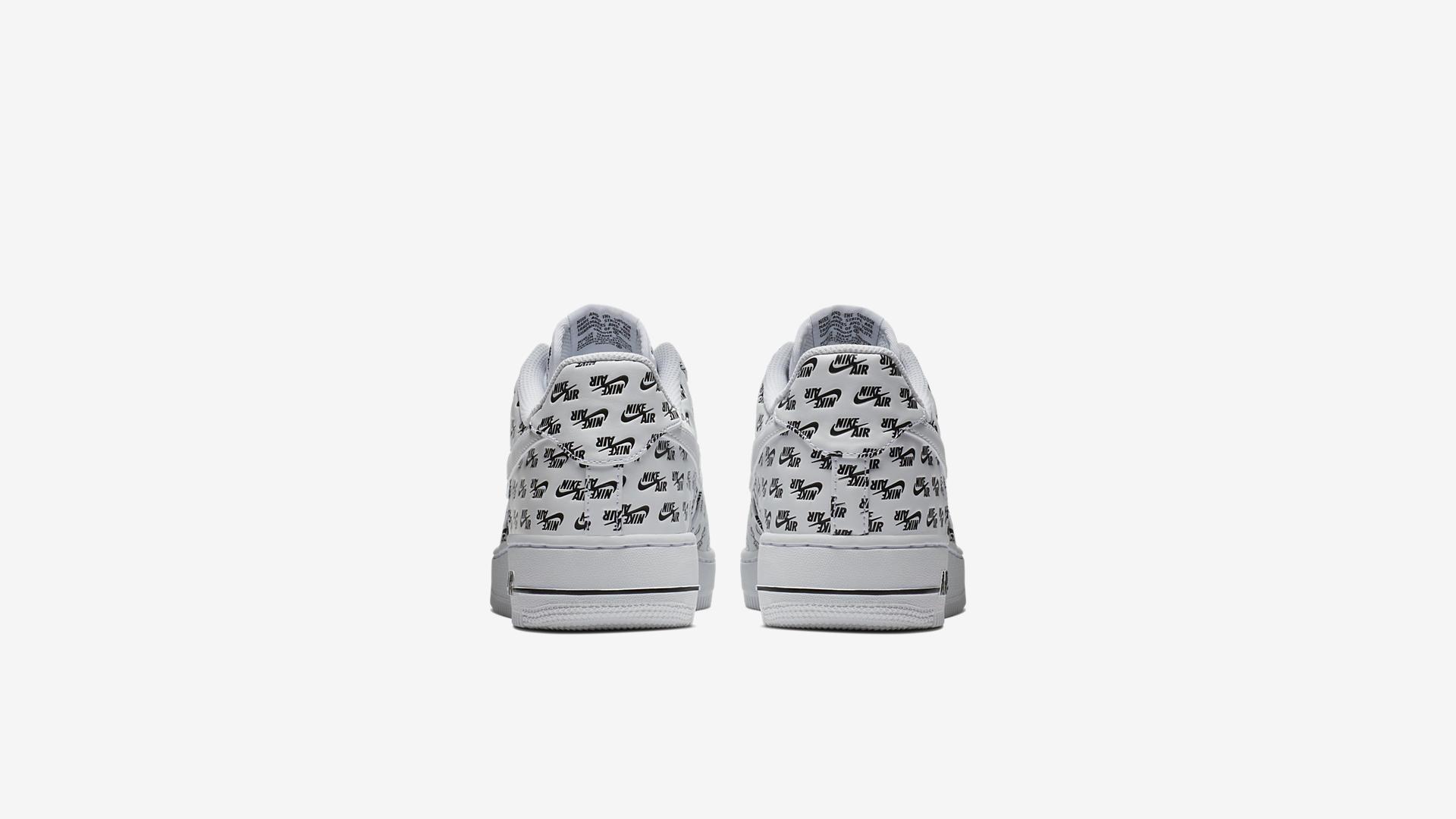 AH8462 100 Nike Air Force 1 07 White Black 1