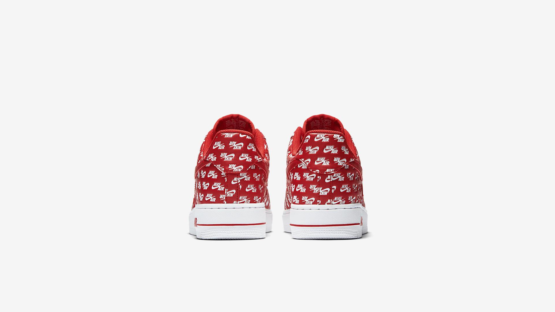 AH8462 600 Nike Air Force 1 07 Red White 1