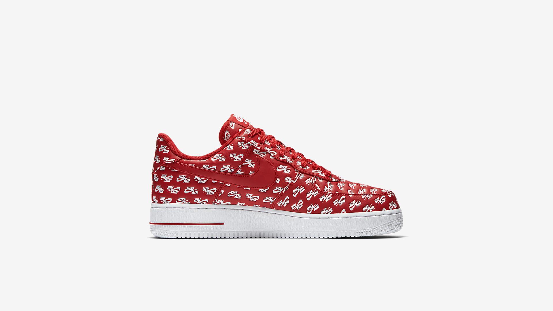 AH8462 600 Nike Air Force 1 07 Red White 3