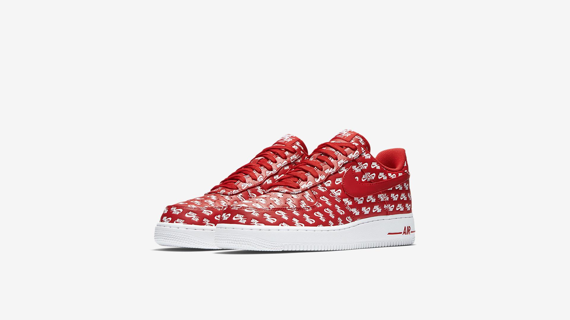 AH8462 600 Nike Air Force 1 07 Red White 4