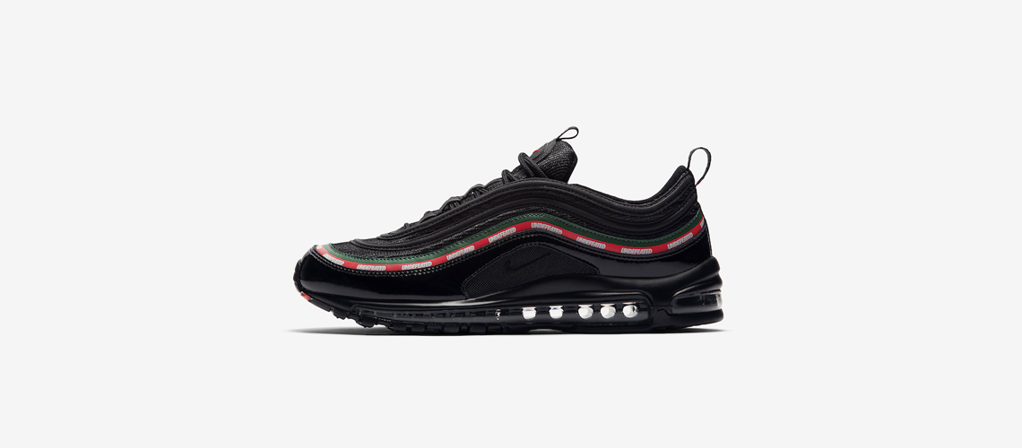Undefeated Nike Air Max 97 Black Official Images AJ1986 001