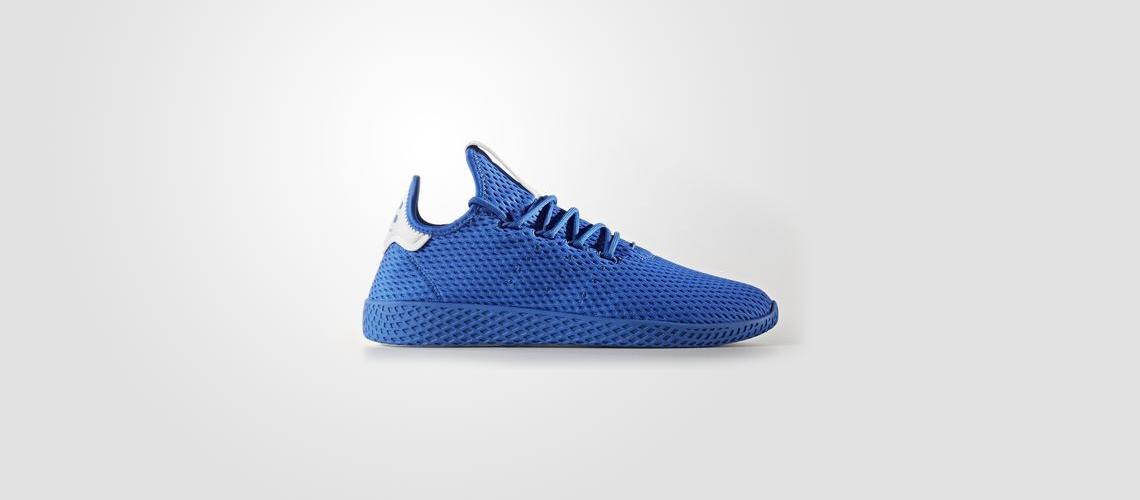 CP9766 Pharrell Williams x adidas Tennis HU Blue