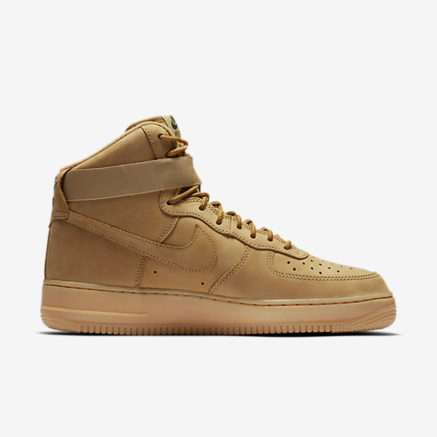 882096 200 Nike Air Force 1 High Flax 3