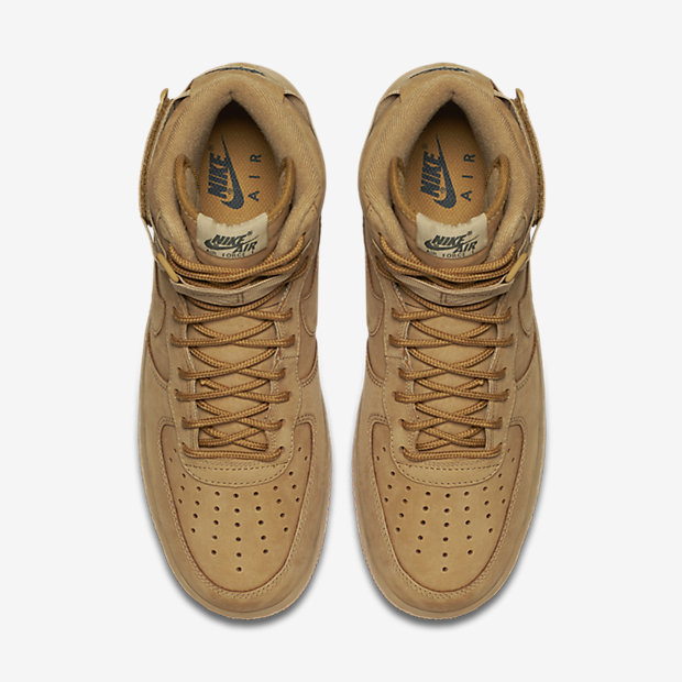 882096 200 Nike Air Force 1 High Flax 4