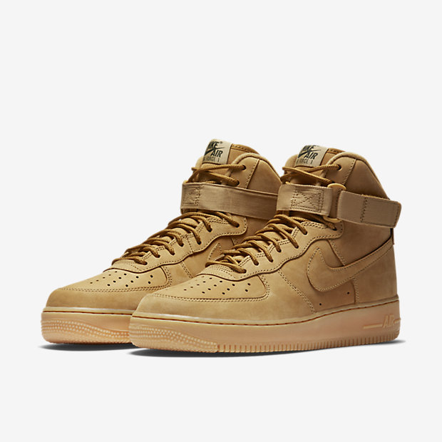 882096 200 Nike Air Force 1 High Flax 5