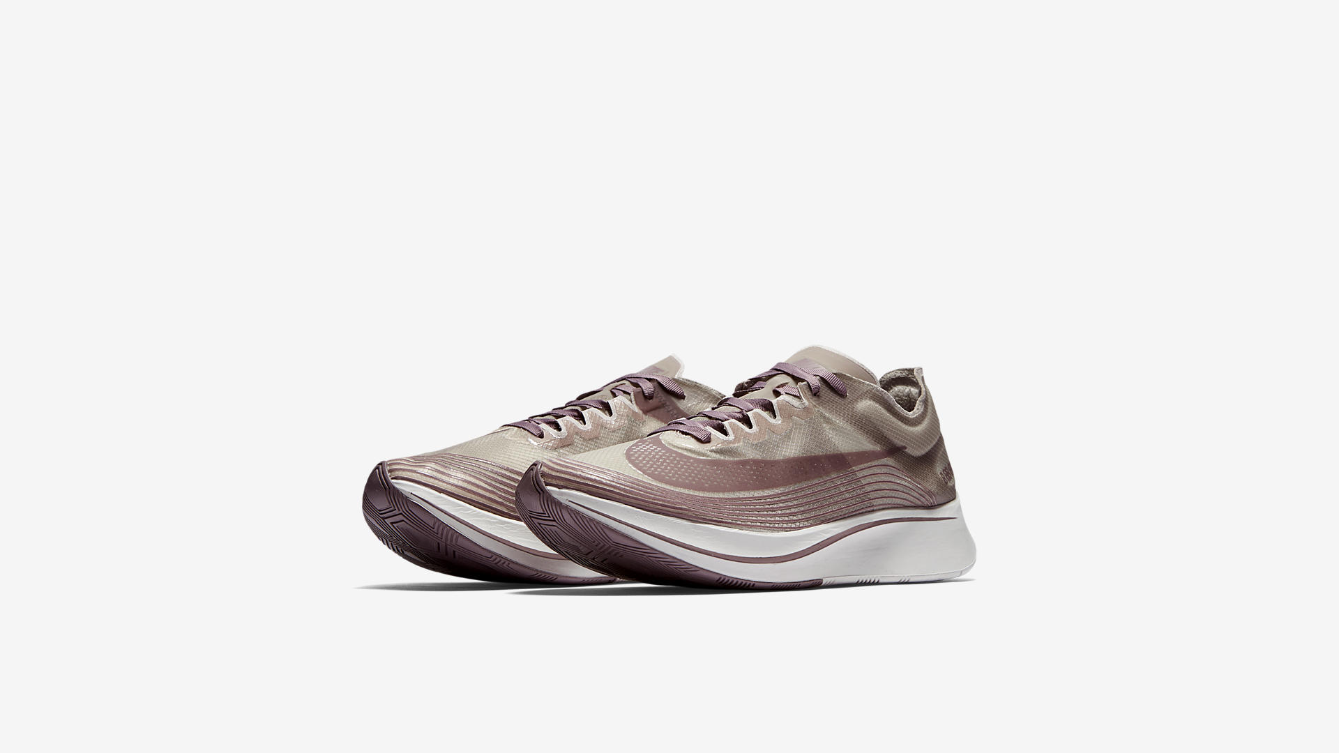 AA3172 200 Nike Zoom Fly Taupe Grey Obsidian 1