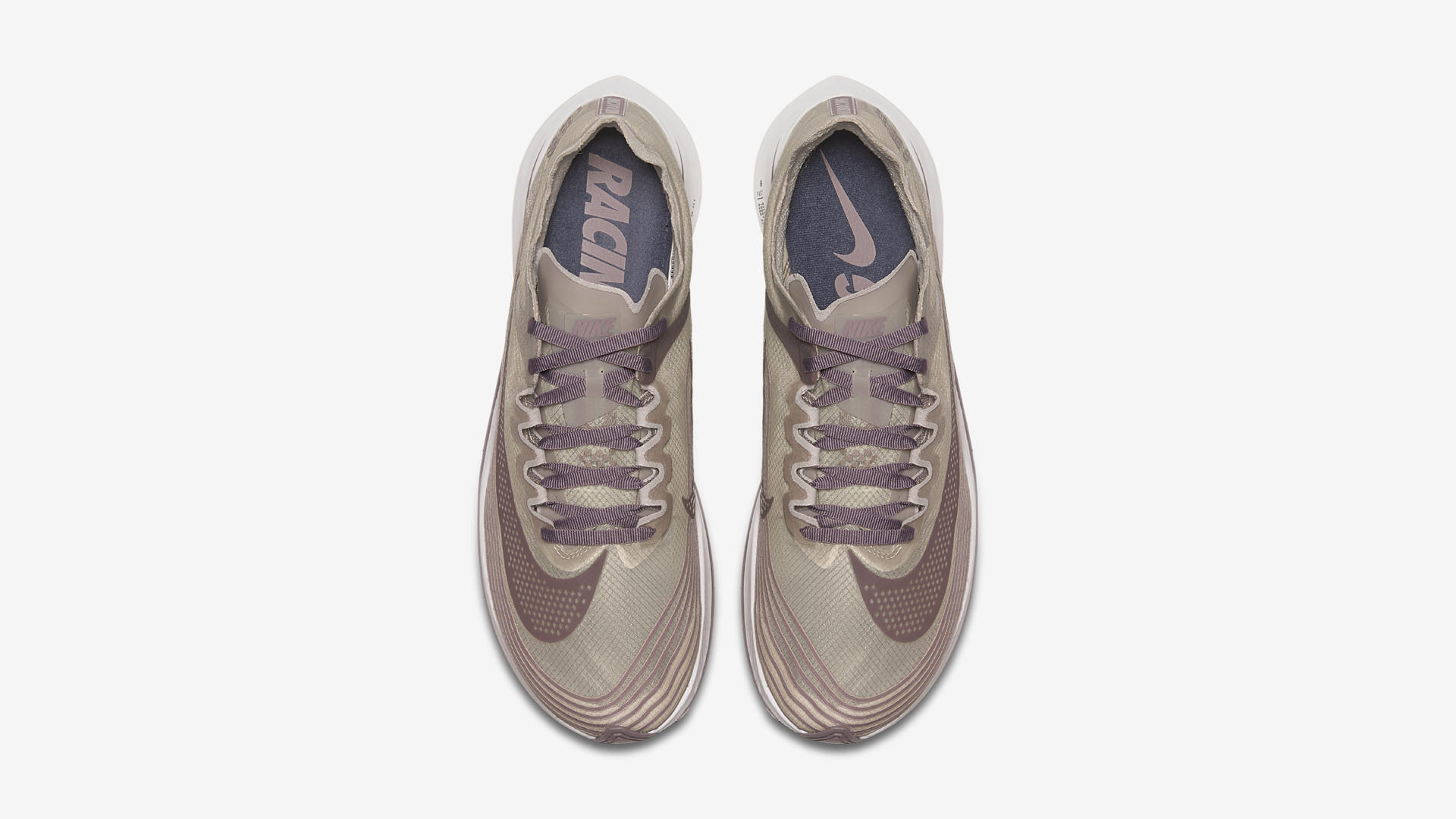 AA3172 200 Nike Zoom Fly Taupe Grey Obsidian 3