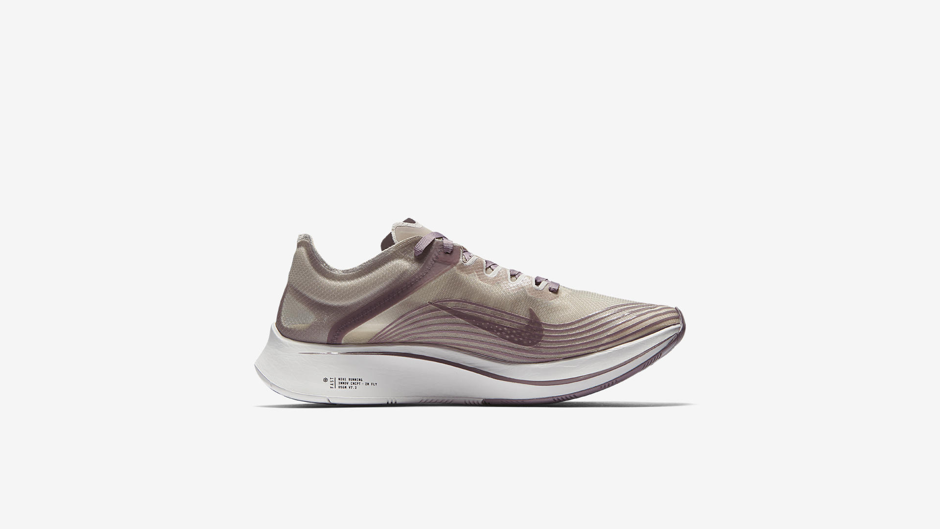 AA3172 200 Nike Zoom Fly Taupe Grey Obsidian 4