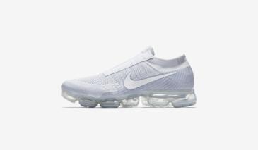 Nike Air VaporMax Laceless – Pure Platinum