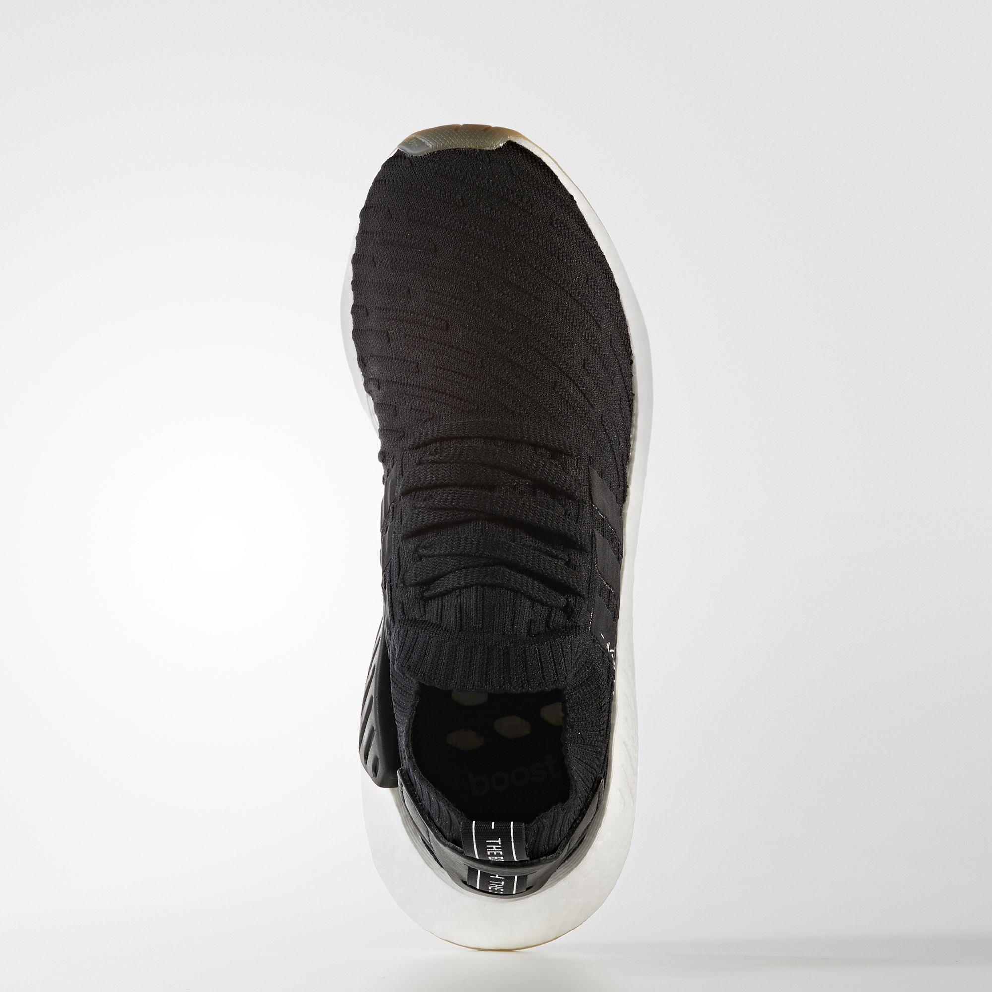 BY9696 adidas NMD R2 Primeknit Core Black 1