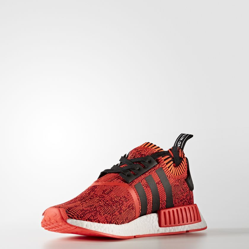 CQ1865 adidas NMD R1 Primeknit Red Apple 3