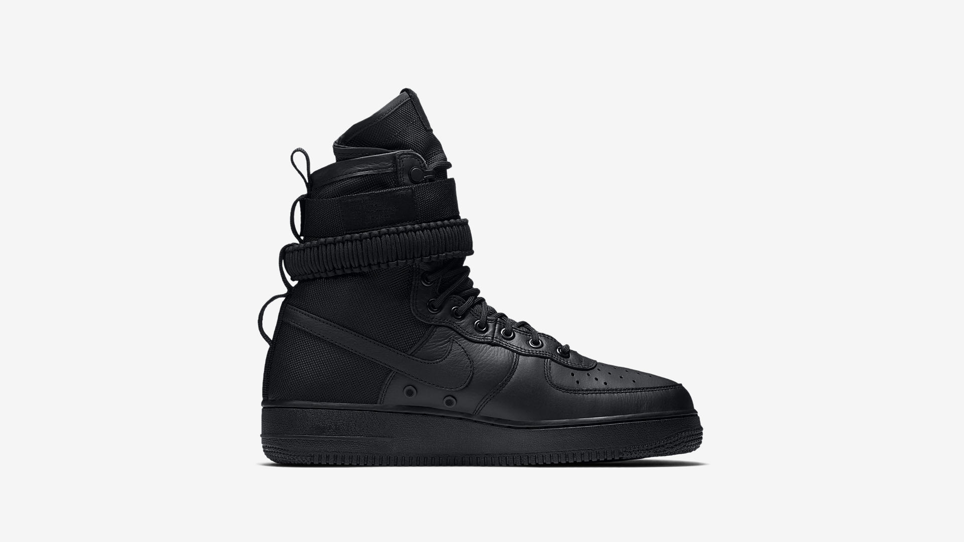 864024 003 Nike SF Air Force 1 Triple Black 4