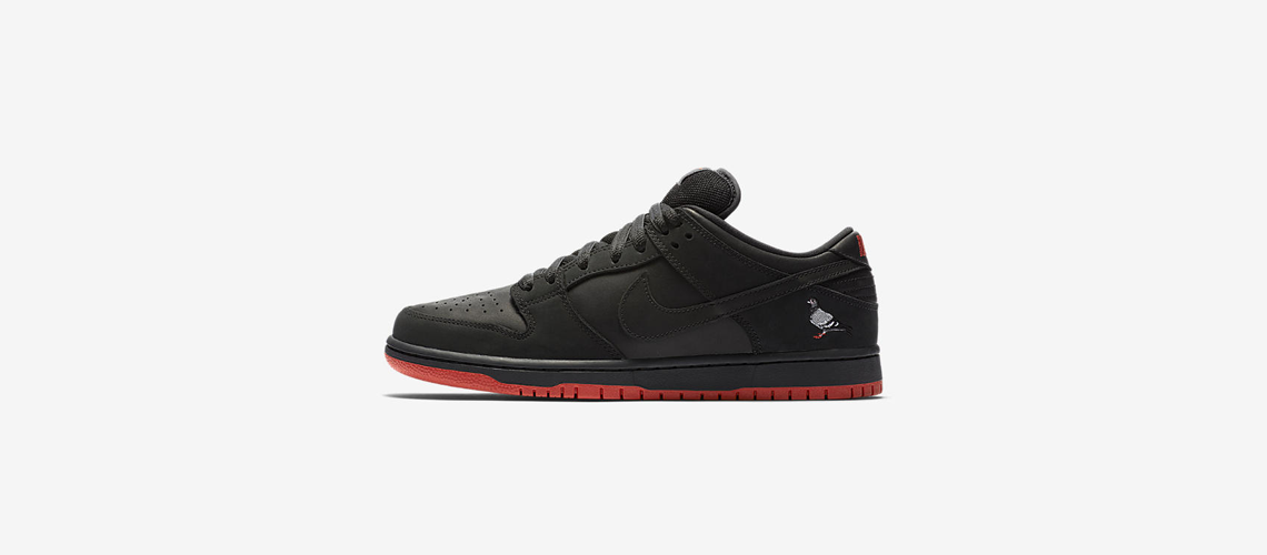 883232 008 Nike SB Dunk Low Pro Black Pigeon