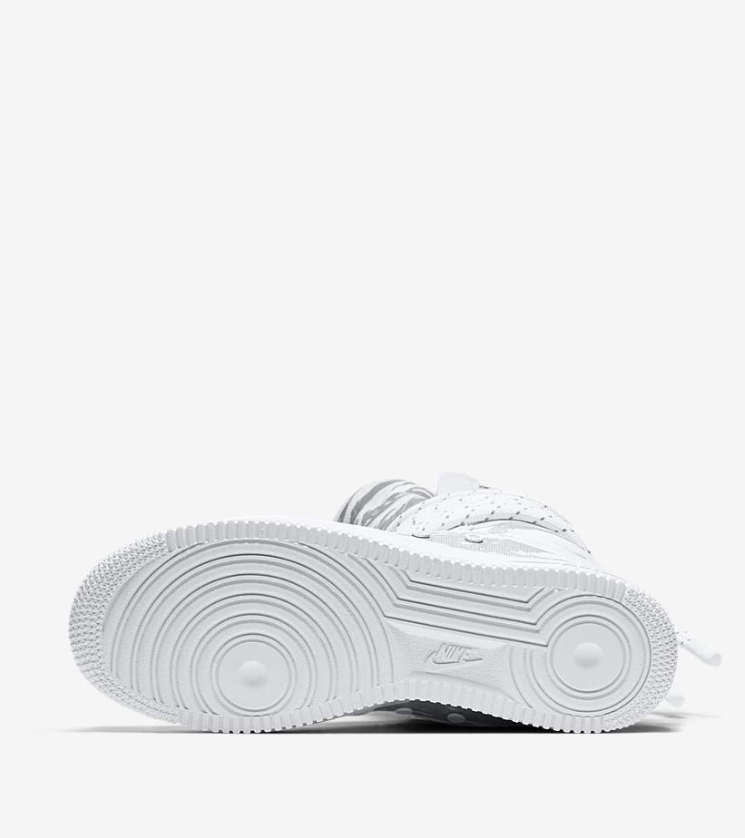 AA1130 100 Nike SF Air Force 1 Hi Triple White 1