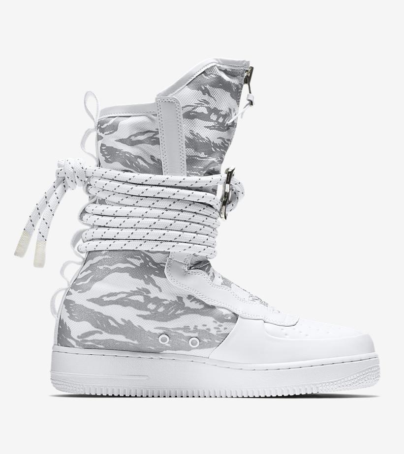 AA1130 100 Nike SF Air Force 1 Hi Triple White 2