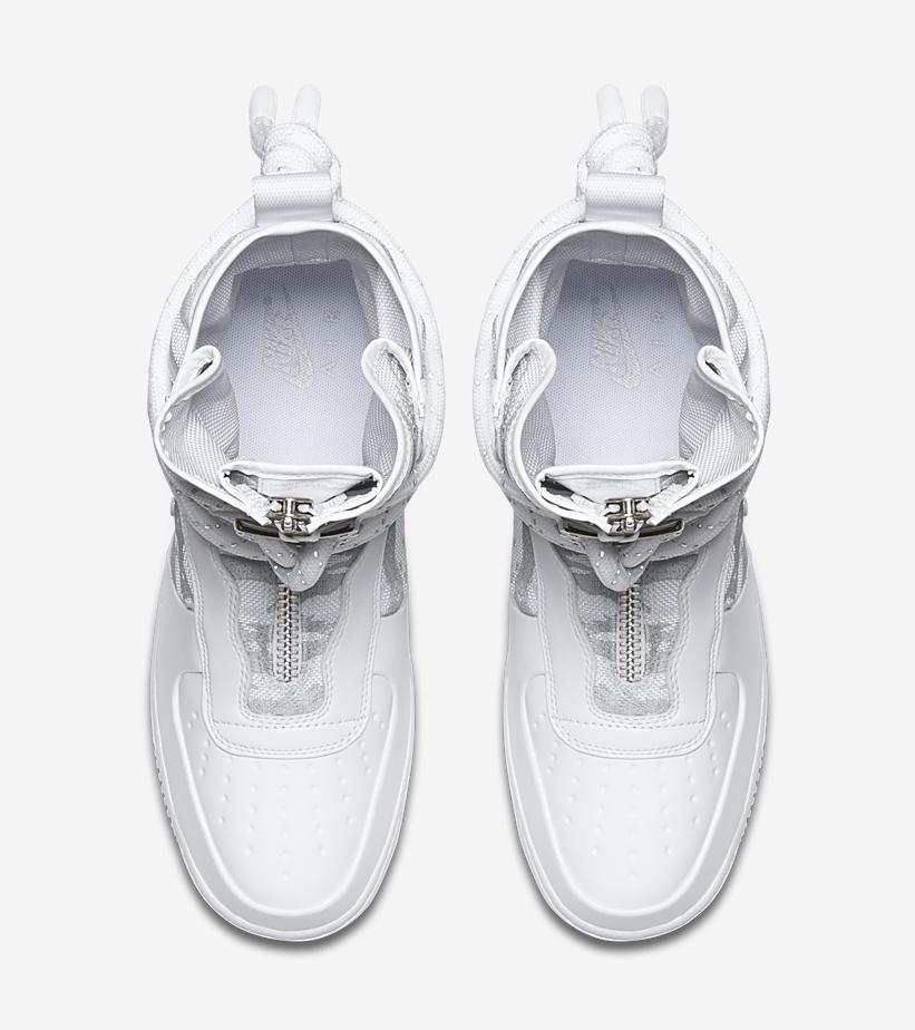 AA1130 100 Nike SF Air Force 1 Hi Triple White 3