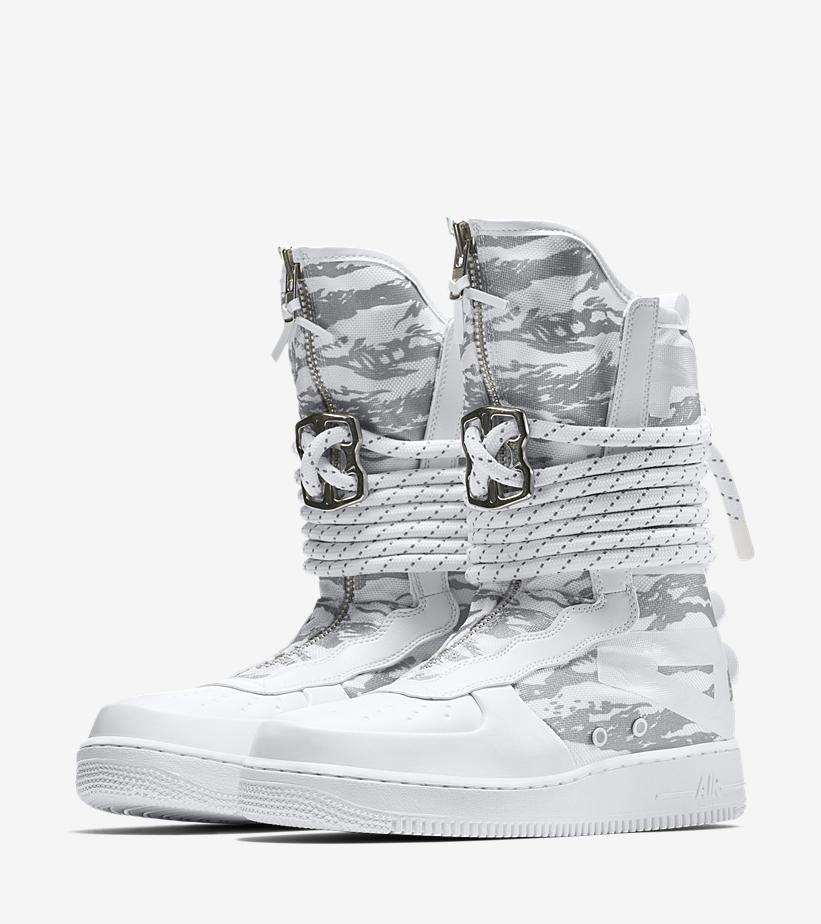 AA1130 100 Nike SF Air Force 1 Hi Triple White 5