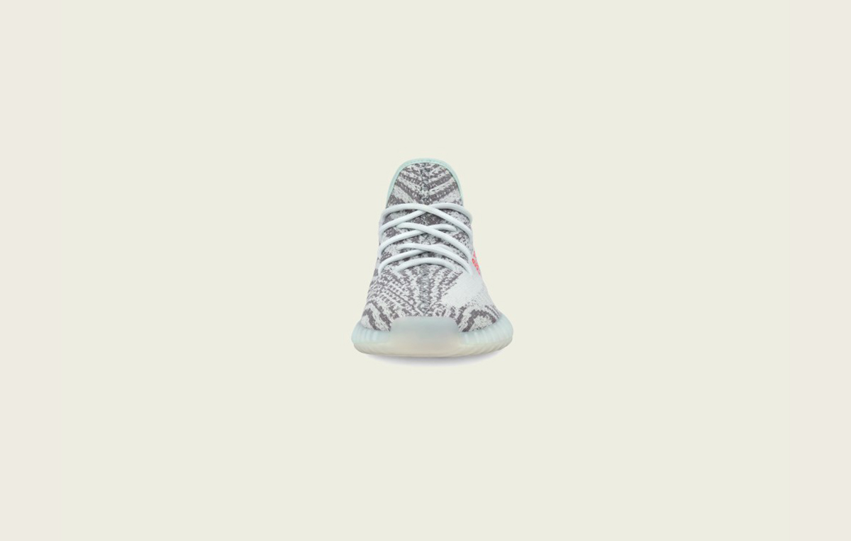 B37571 adidas Yeezy Boost 350 V2 Blue Tint 2