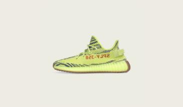 adidas Yeezy Boost 350 V2 – Semi Frozen Yellow