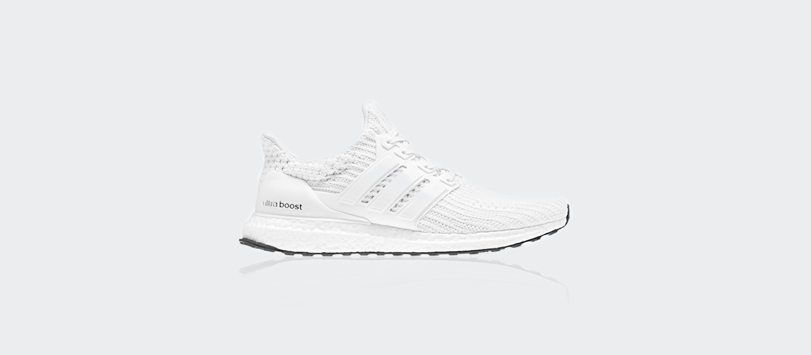 BB6168 adidas Ultra Boost 4 0 All White