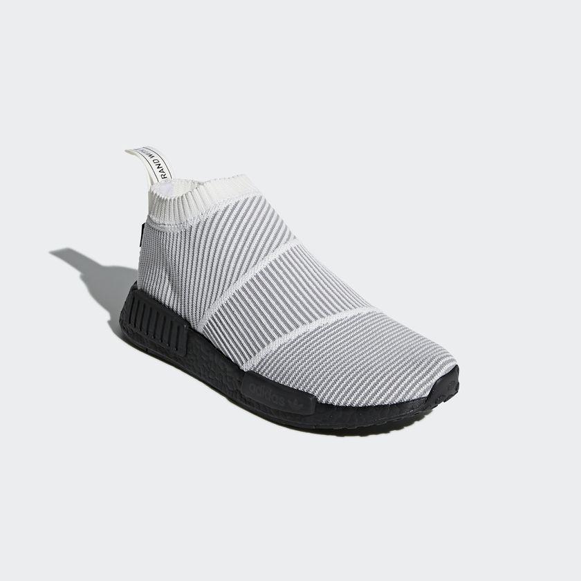 BY9404 adidas NMD CS1 GTX Primeknit White 2