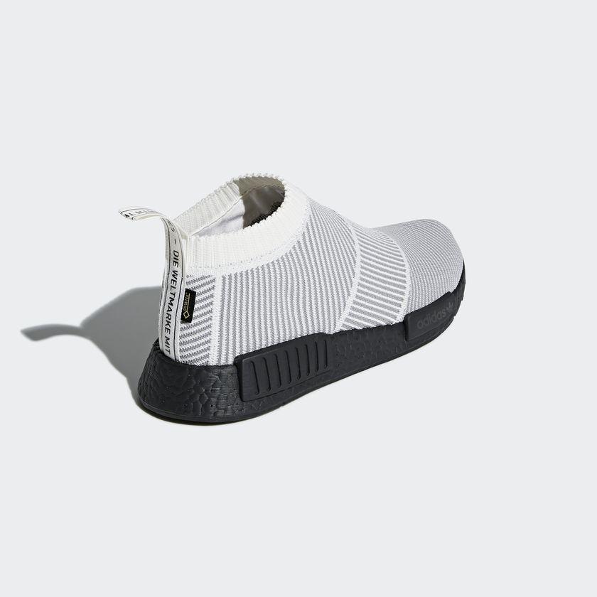 BY9404 adidas NMD CS1 GTX Primeknit White 3