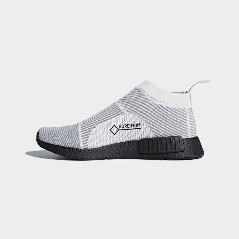 BY9404 adidas NMD CS1 GTX Primeknit White 4