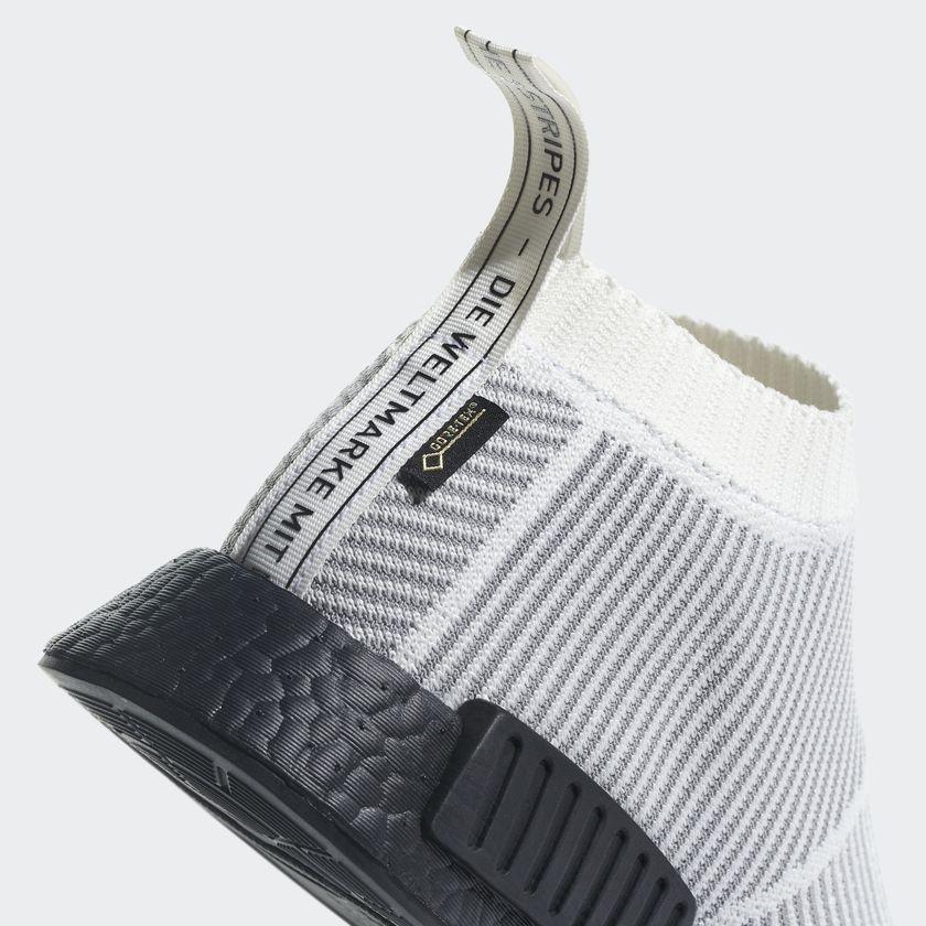 BY9404 adidas NMD CS1 GTX Primeknit White 6