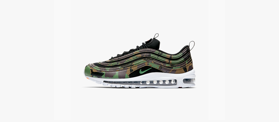 AJ2614 201 Nike Air Max 97 UK Country Camo Pack