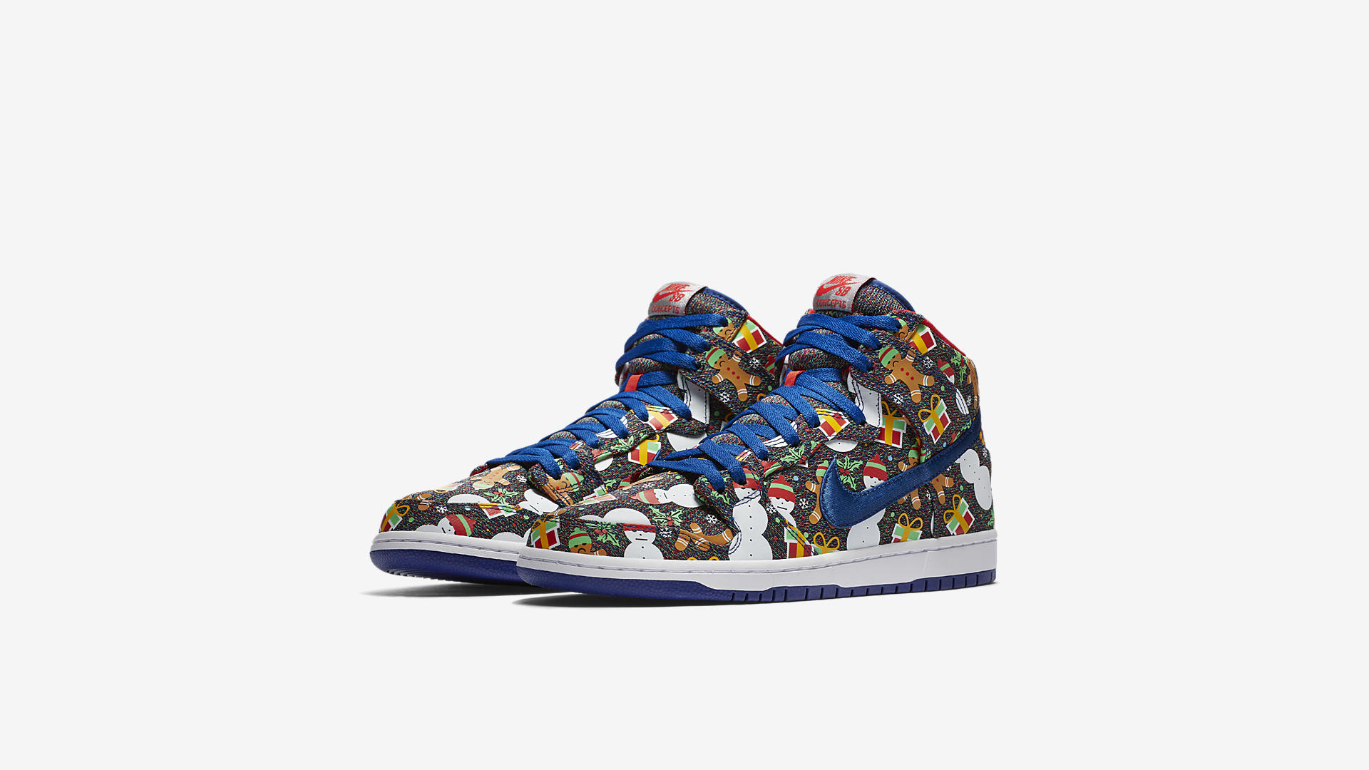 Concepts x Nike SB Dunk Pro High Ugly Sweater 1