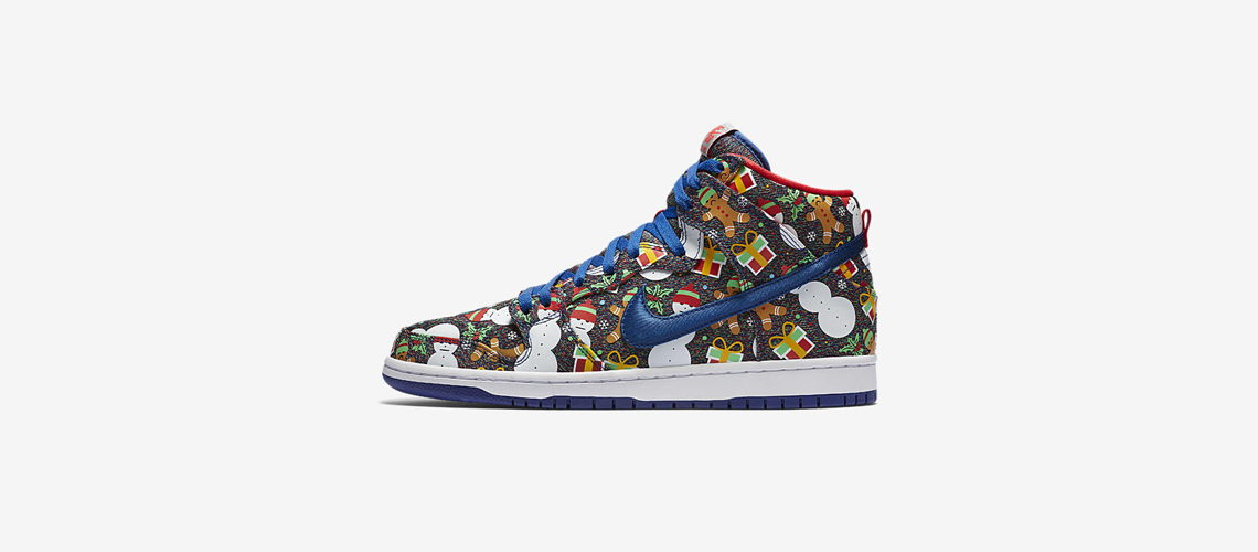 Concepts x Nike SB Dunk Pro High Ugly Sweater
