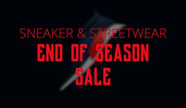 End of Season Sale 2017