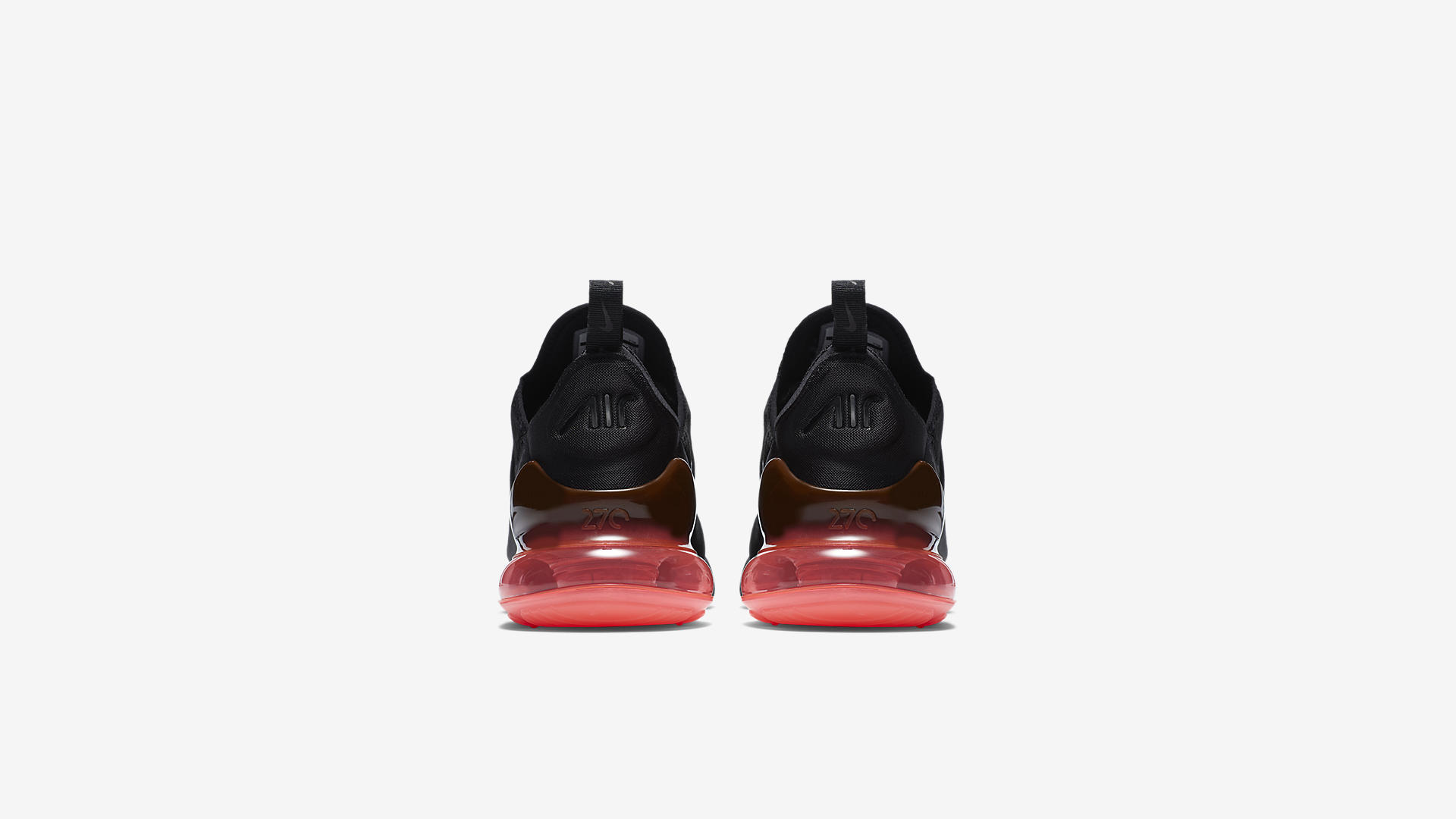 AH8050 010 Nike Air Max 270 Black Hot Punch 2